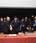 Fornitori ufficiali EA7 Olimpia Milano - Il taglio della torta di Natale
